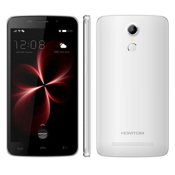 Homtom HT17 Pro 5.5 pulgadas Android 6.0 4G phablet MTK6737 de cuatro nucleos a 1,3 GHz 2 GB de RAM 16 GB de ROM sensor de huellas dactilares HotKnot