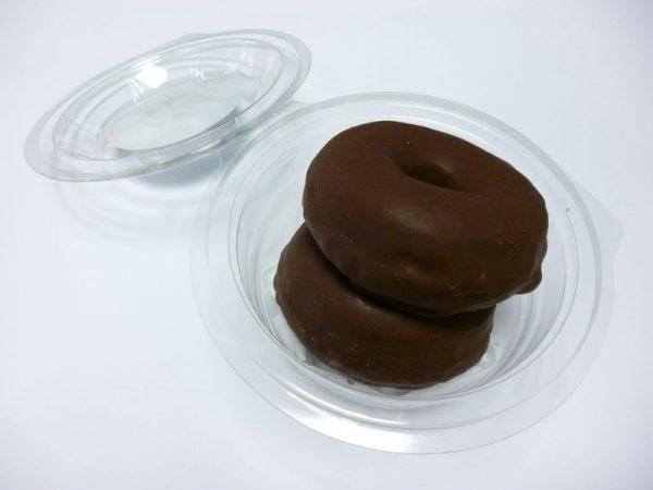 Mini berlinas chocolate