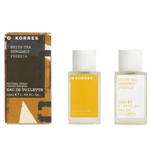 Korres White Tea Bergamot Freesia Eau de Toilette 50ml