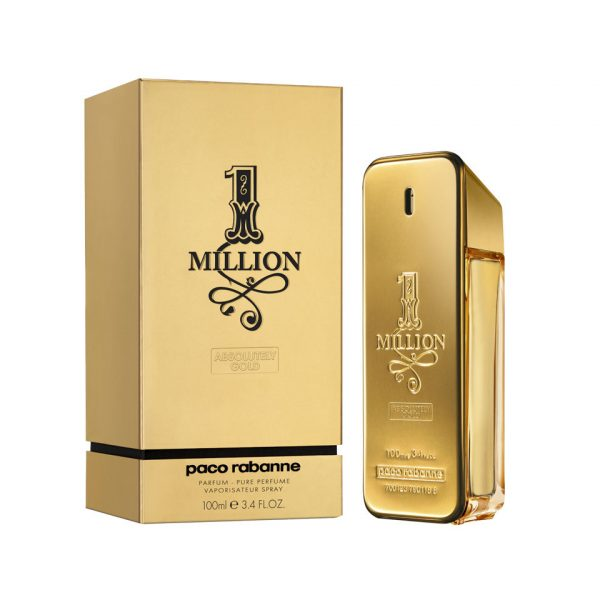 Perfume Paco Rabanne 1Million Absolutely Gold - Para Hombre