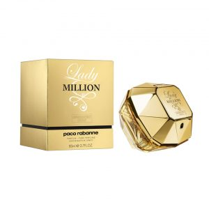 Paco Rabanne Lady Million Absolutely Gold Parfum 80ml