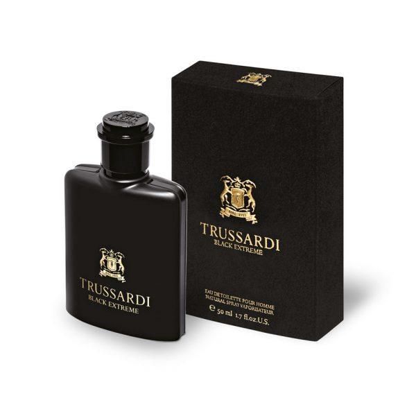 Trussardi Black Extreme for Men Eau de Toilette 50ml