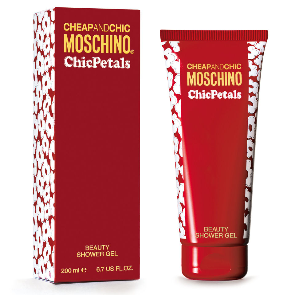 Moschino Chic Petals Bath Gel (200ml)