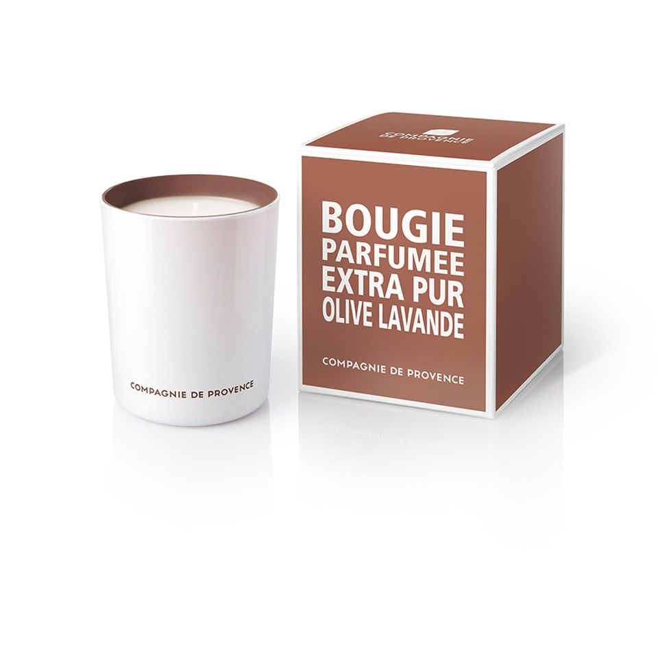 Compagnie de Provence Extra Pur Candle - Olive and Lavender (180g)