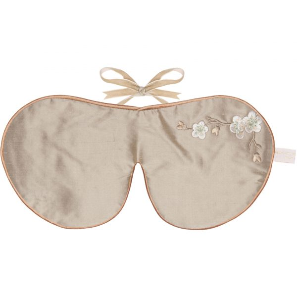 Holistic Silk Lavender Eye Mask - Bronze Blossom