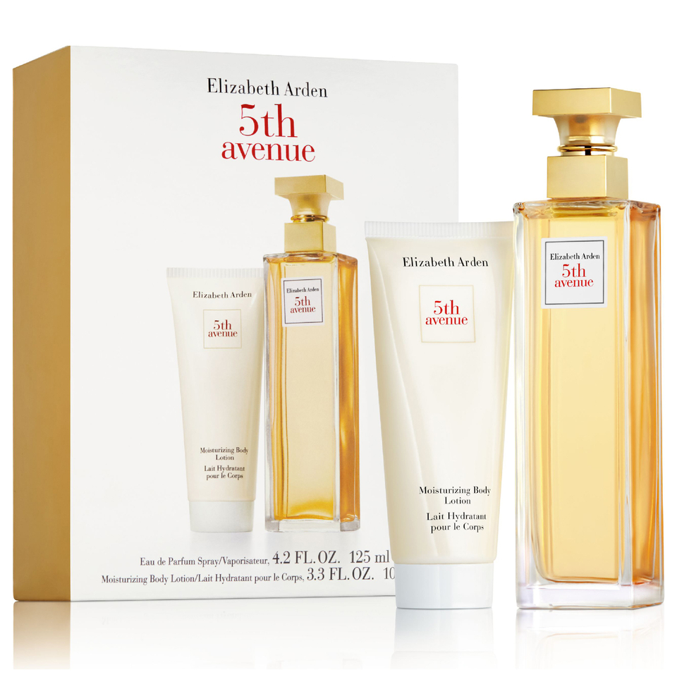 Elizabeth Arden Fifth Avenue Moisturiser & 125ml Perfume Duo