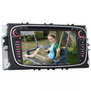 J-8628MX 7 pulgadas pantalla tactil Digital Coche accesorios GPS Reproductor de DVD para el Ford Mondeo