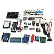 XDRduino UNO R3 Motor de pasos de placa Placa de desarrollo RFID Starter Kit con componente basico Pack para Arduino Workshop principiantes