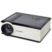 PH580S 220 Lumens 1280 x 800 pixeles HD Proyector LCD Relacion de contraste de 2000:1 con HDMI VGA AV TV Entrada USB - Enchufe de EE.UU.