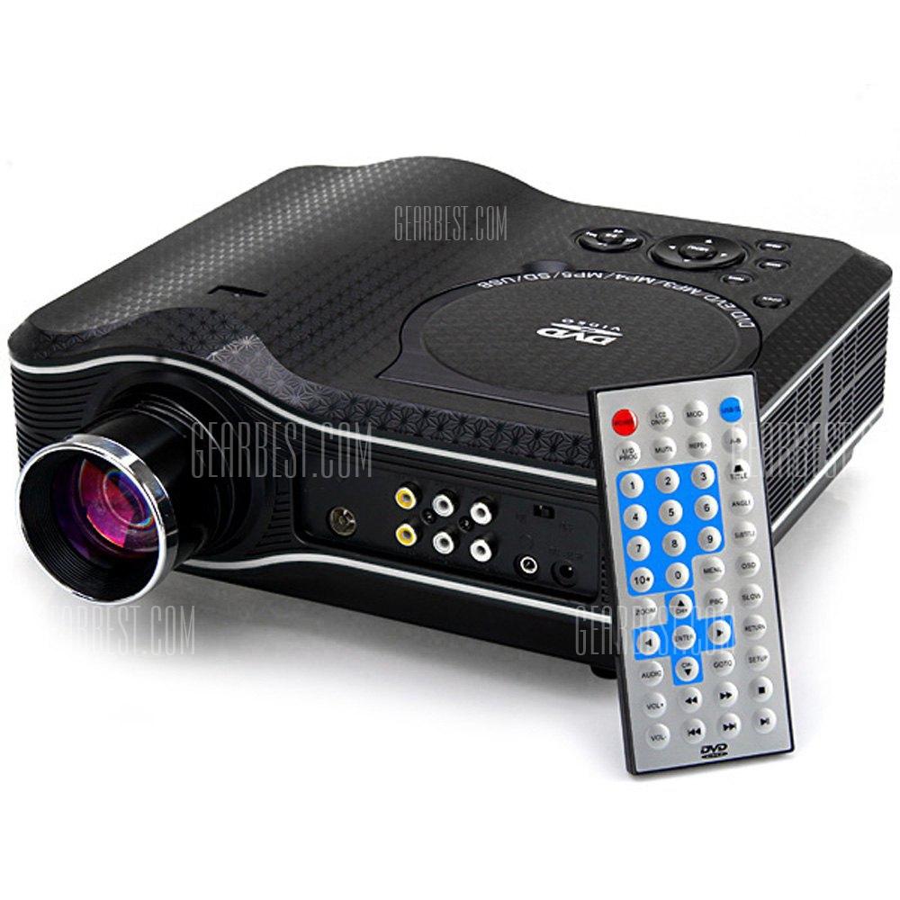 KSD - 388 LED Proyector Multimedia con reproductor de DVD - 80 Lumenes de 800 x 600 pixeles Relacion de contraste de 100:1
