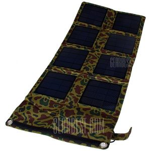 SP24W 24W Cargador solar portatil plegable exterior Pack Alimentacion electrica movil