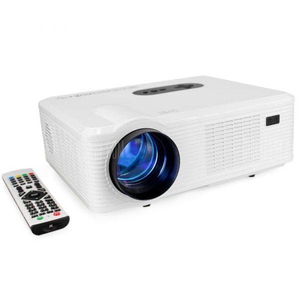 Excelvan CL720 proyector de LED con interfaz de TV analogica.