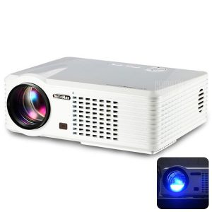 PRS200 Home Theater proyector LED multifuncional 1500 LM 800 x 480 pixeles con Correccion Keystone para Desktop Portatil