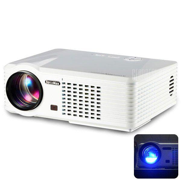 PRS200 Home Theater proyector LED multifuncional 1500 LM 800 x 480 pixeles con Correccion Keystone para Desktop Portatil