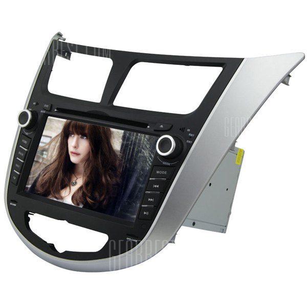 RL - 499WGNR02 Alquiler de DVD de 7 pulgadas navegador GPS para HYUNDAI VERNA