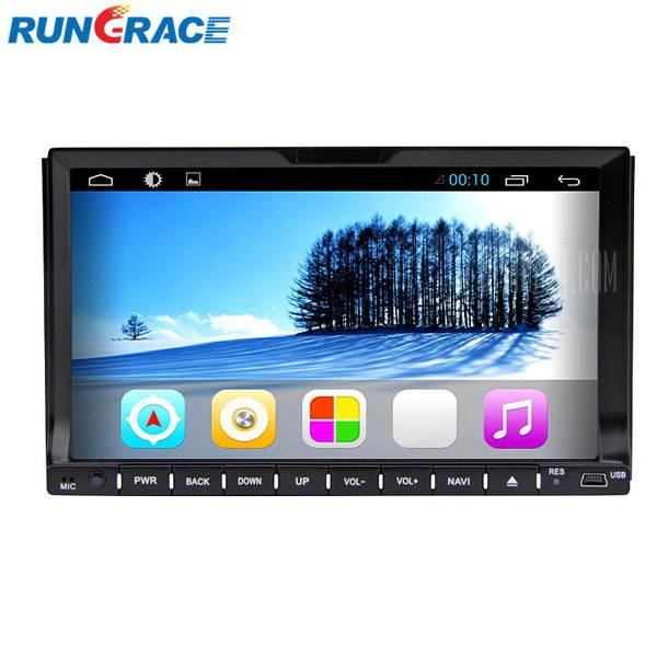RL - Rungrace 202AGIR de 7 pulgadas multi - Pantalla tactil - Dash ISDB-T coche reproductor de DVD
