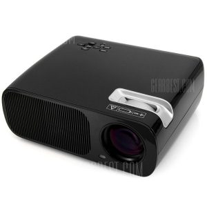 BL - 02 Home Theater proyector LCD multifuncional ( 2600 LM 800 x 480 pixeles ) compatible con 1080P ( CA 110 - 240 V )