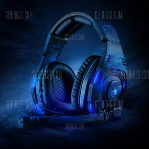 Sades SA - 907 El sonido Surround 7.1 USB Gaming auricular con mic Control de voz Luz LED para PC Portatil