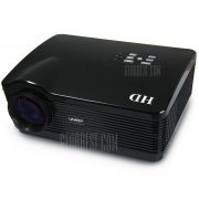 U-2 UhAPPy proyector LCD 3000LM 1280 x 768 pixeles con HDMI USB Tarjeta SD ranura para AV portatil PC XBox 360 PlayStation 3 etc.