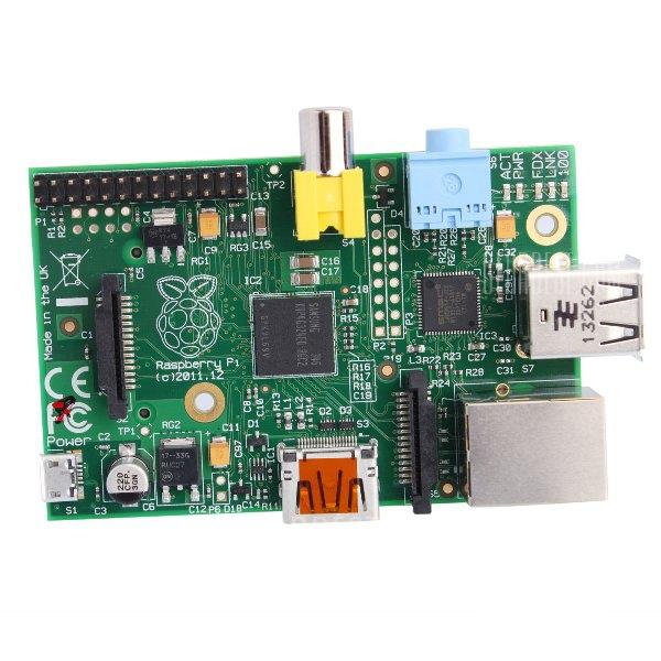 Raspberry PI Dual USB 2.0 Audio Jack 3,5 cm Broadcom BCM2835 Placa de aprendizaje