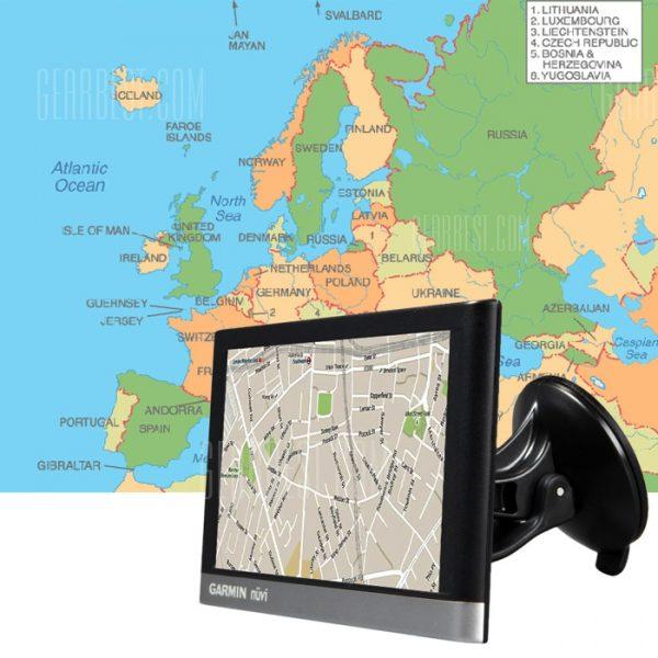 GARMIN NUVI 2567 8GB, pantalla tactil de 5 pulgadas del vehiculo automovil Bluetooth GPS Navigator con mapas gratis de por vida (UE)