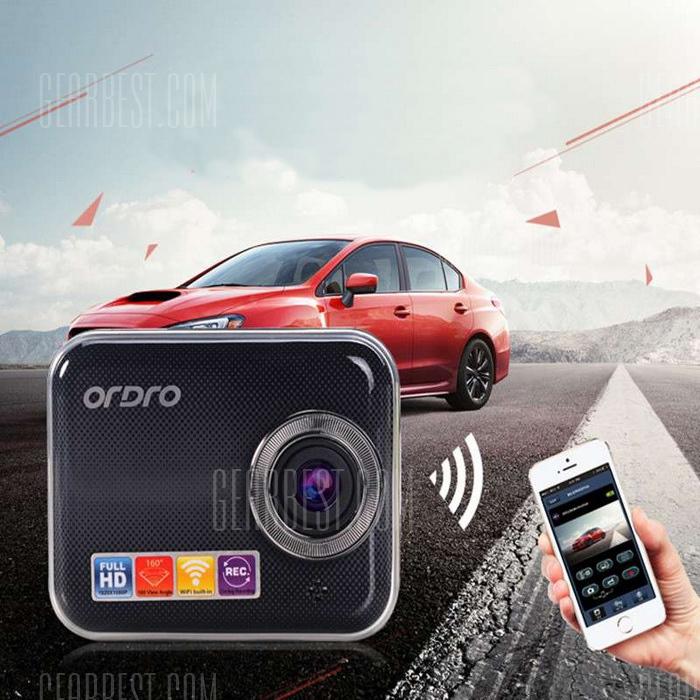 ORDRO P505w WiFi DVR coche Dash Cam