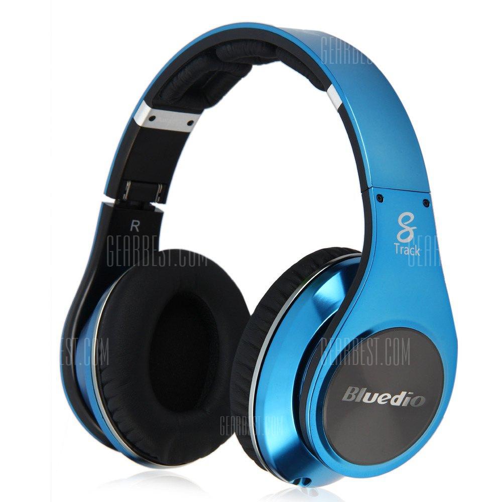 Bluedio R + Leyenda version v4.0 Auriculares inalambricos Bluetooth estereo con sonido Surround Auricular NFC