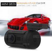 MINI 8.26 1,5 pulgadas pantalla LCD de 1296P HD Camcorder DVR coche GPS