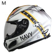 Rda original 802 hombres motocicleta Casco Full Face DOT