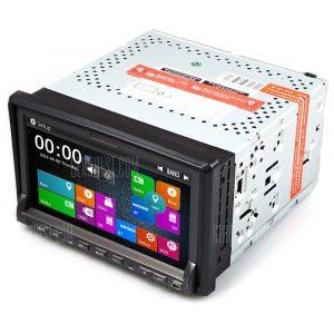 DJ7019 WCE de DVD del coche de navegacion GPS, reproductor de video estereo