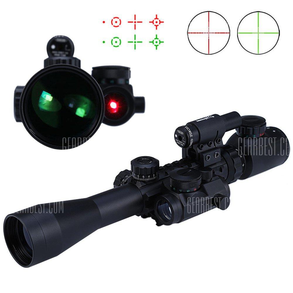 3 - 9X40EG rojo / verde iluminado Riflescope