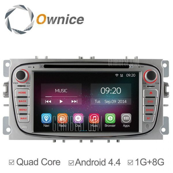 Ownice-OL-7202C200 un Android 4.4.2 7.0 coche DVD GPS Reproductor multimedia