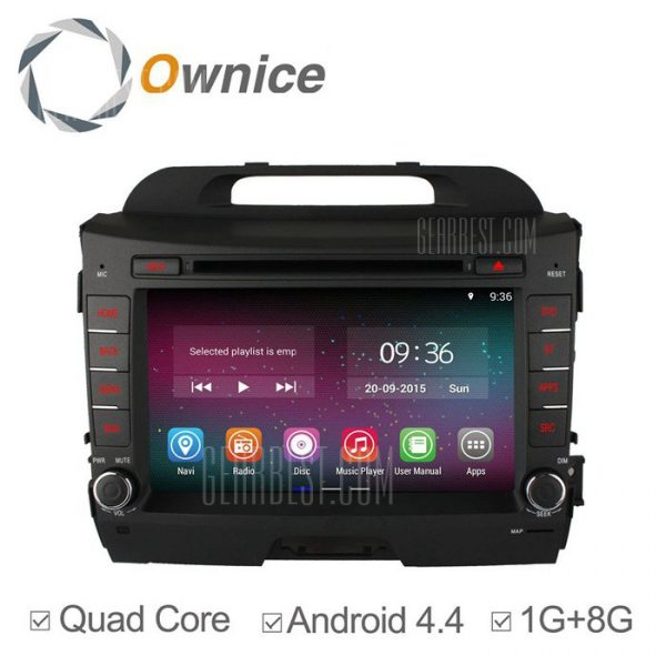 Ownice-OL-8732C200 un Android 4.4.2 8,0 pulgadas coche DVD GPS Reproductor multimedia