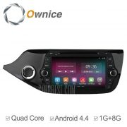 Ownice-OL-8733C200 un Android 4.4.2 8,0 pulgadas coche DVD GPS Reproductor multimedia