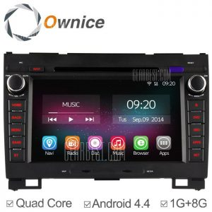 Ownice-OL-8801C200 un Android 4.4.2 8,0 pulgadas coche DVD GPS Reproductor multimedia