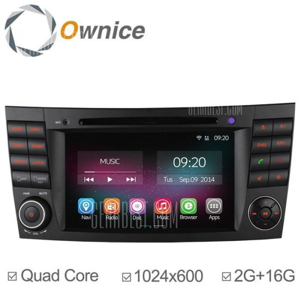 Ownice C200-OL-7949B Android 4.4.2 7.0 coche DVD GPS Reproductor multimedia
