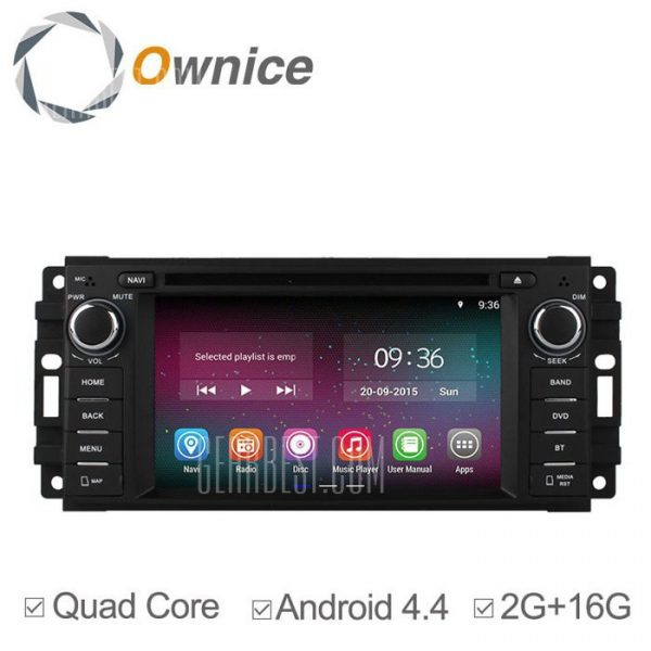 Ownice C200-OL-6253B Android 4.4.2 6.2 pulgadas coche DVD GPS Reproductor multimedia