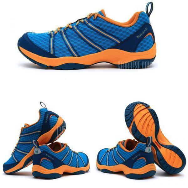Tejido de malla para leer los hombres senderismo zapatos de trekking