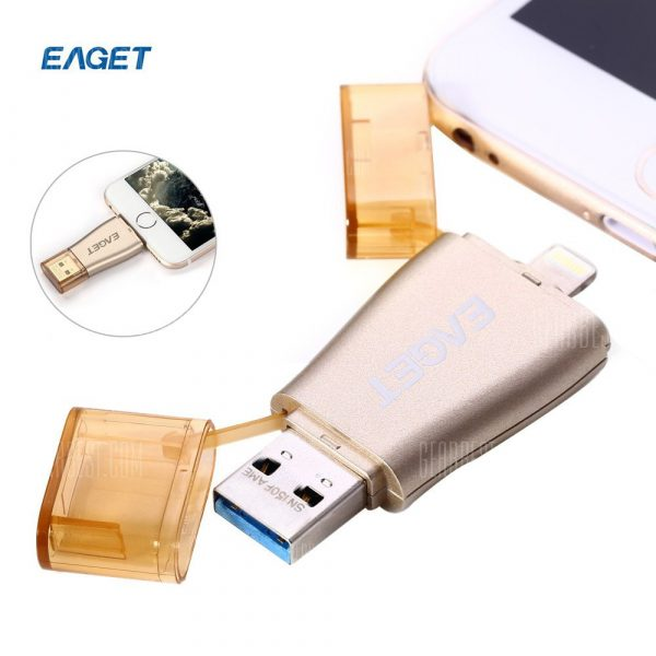 EAGET I50 128GB USB 3.0 Flash Drive OTG