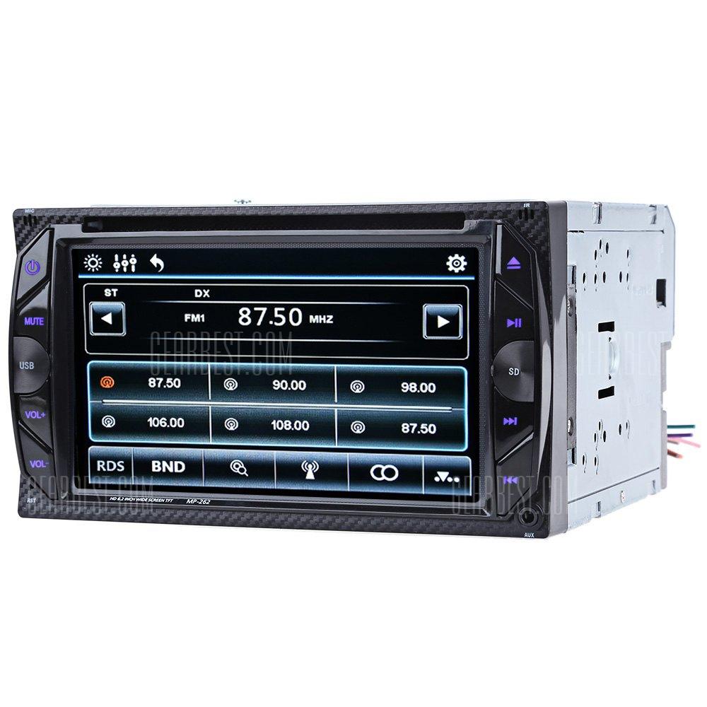 262 Bluetooth V3.0 coche reproductor de DVD