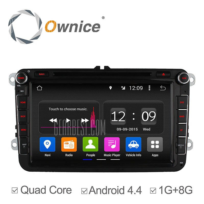 Ownice C180 - OL - 8992un Android 4.4.2 8,0 pulgadas coche DVD GPS Reproductor multimedia