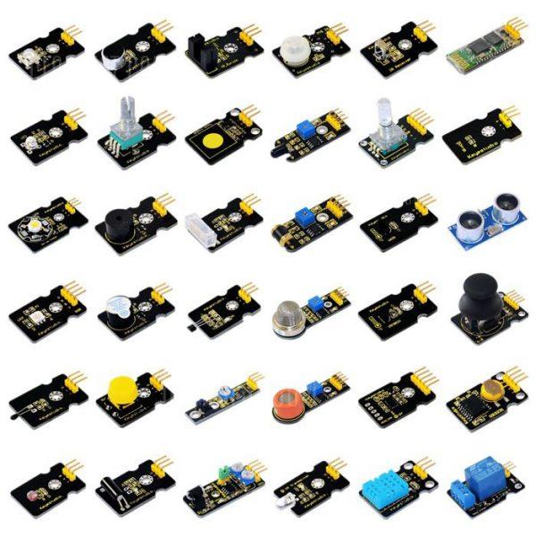 36pcs Keyestudio Basic Kit Modulo sensor parte electronica para los amantes de Arduino