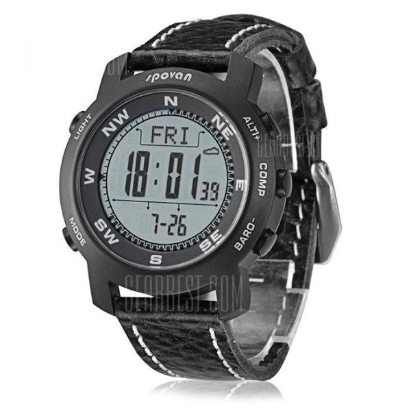 Bravo 2 Spovan Montañismo Reloj digital multifuncion
