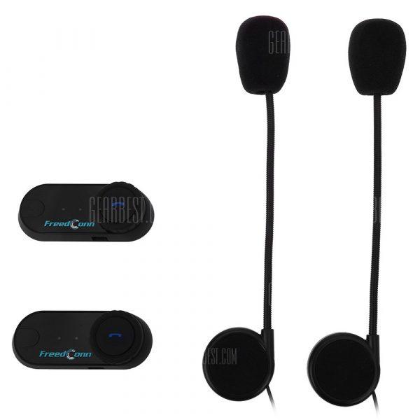 2pcs 800M Waterproof Motorcycle Intercom Bluetooth