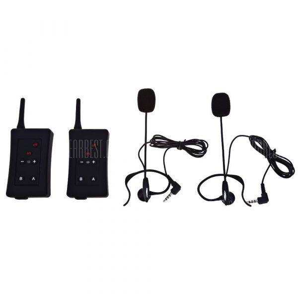 Emparejado FBIM Full Duplex Interfono Bluetooth Intercom sincrono