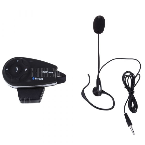 V5C 1200m Full-duplex Intercom Interfono Bluetooth
