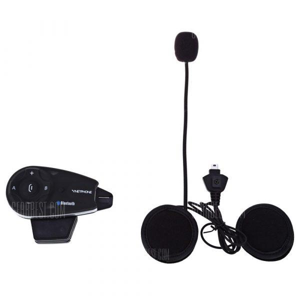 V5 1200m Full-duplex Bluetooth casco de motocicleta interfonia
