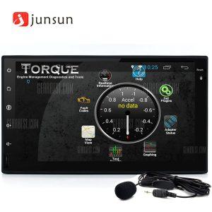 Junsun R167 Android 4.4 7.0 pulgadas Reproductor multimedia de DVD para el coche