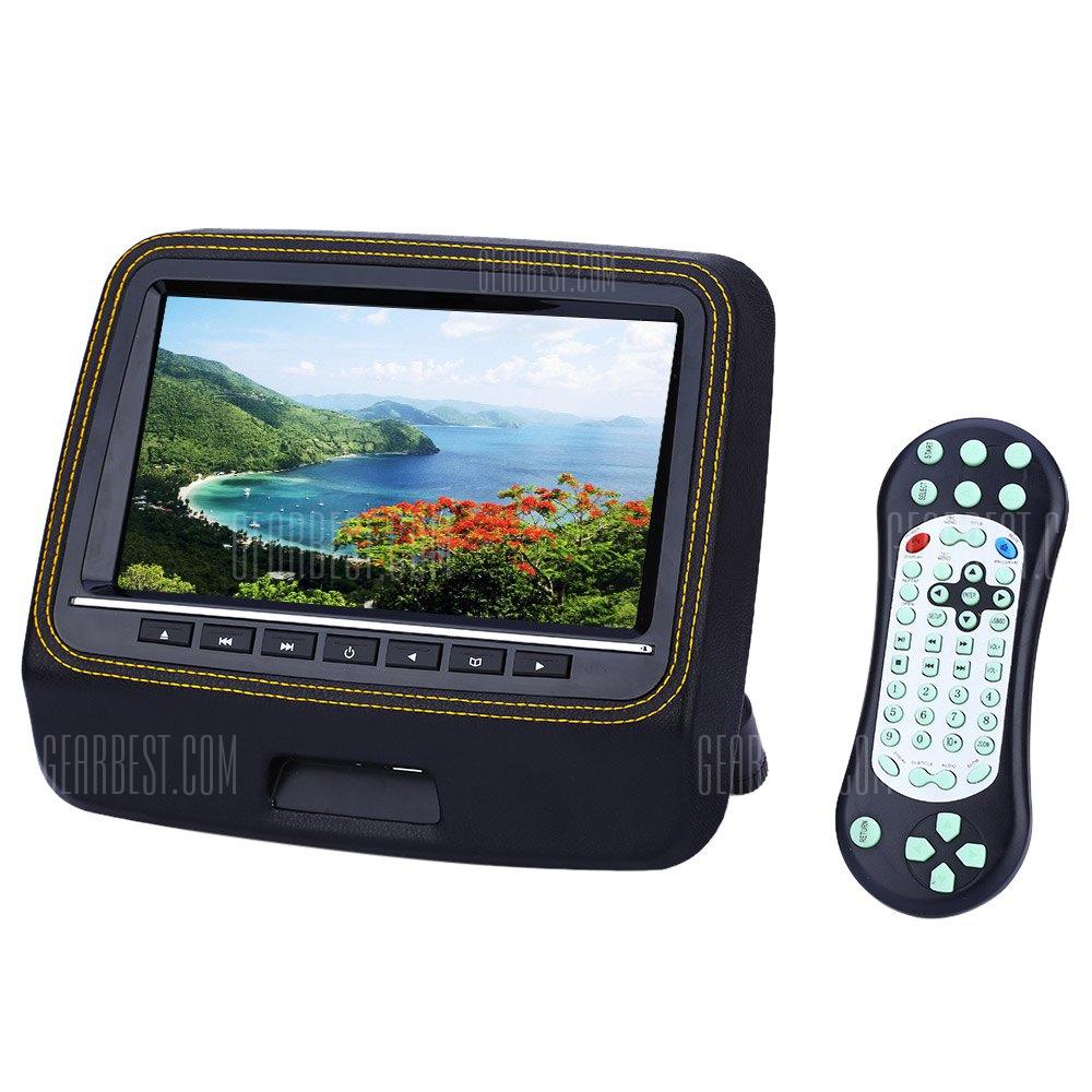 XD9906 9 pulgadas pantalla LCD de 800 x 480 Coche Backseat Reproductor DVD
