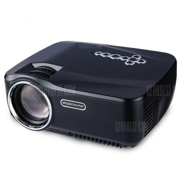 GP - 70hasta Full HD 1080p Mini proyector LCD portatil